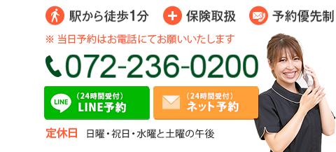お問い合わせください!TEL:0722360200
