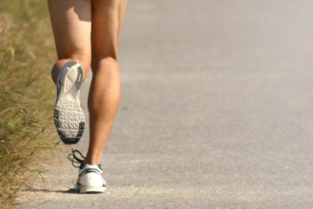 足底筋膜炎写真